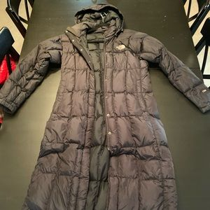North Face Womans puffer coat